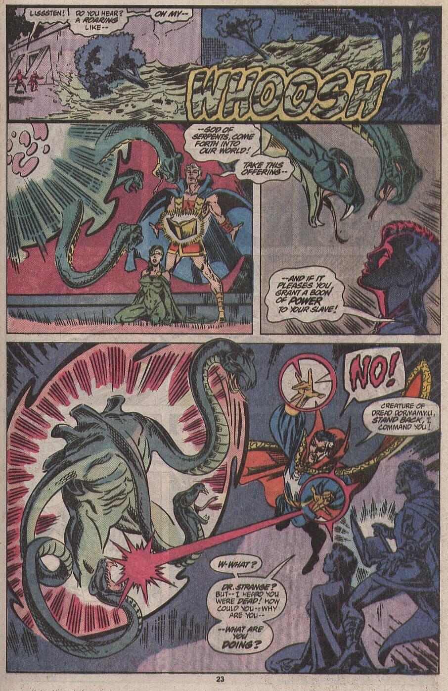 Comicsverse 101: Atlantide Attacca: Un crossover Marvel di cui ...