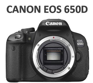 Canon EOS 650D Harga dan Spesifikasi