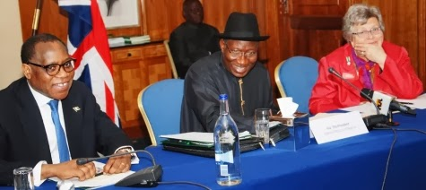 president jonathan stomach pain
