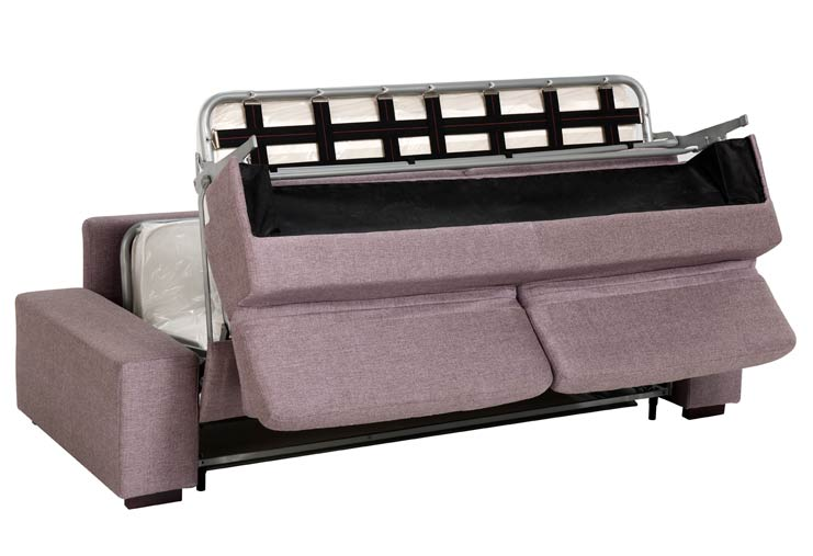 Bettsofa mit matratze for Schlafcouch lattenrost