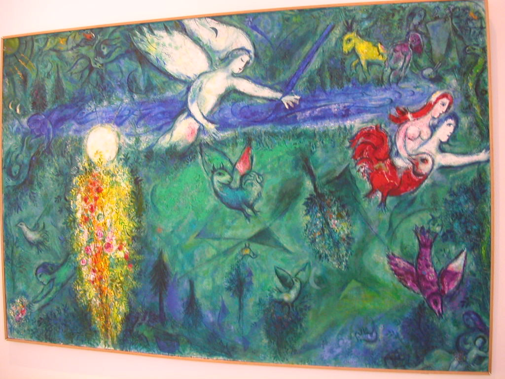 jhkijker: KUNST IN NICE Chagall Museum Nice