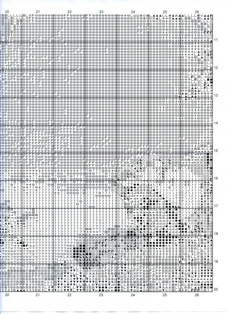 Схема вышивки леврон скачать схему