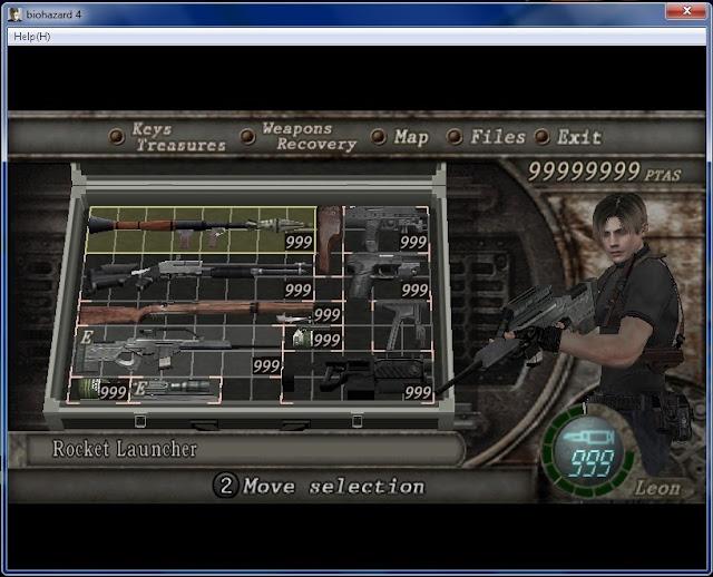 Resident Evil 4 PC Trainer v1.0.0