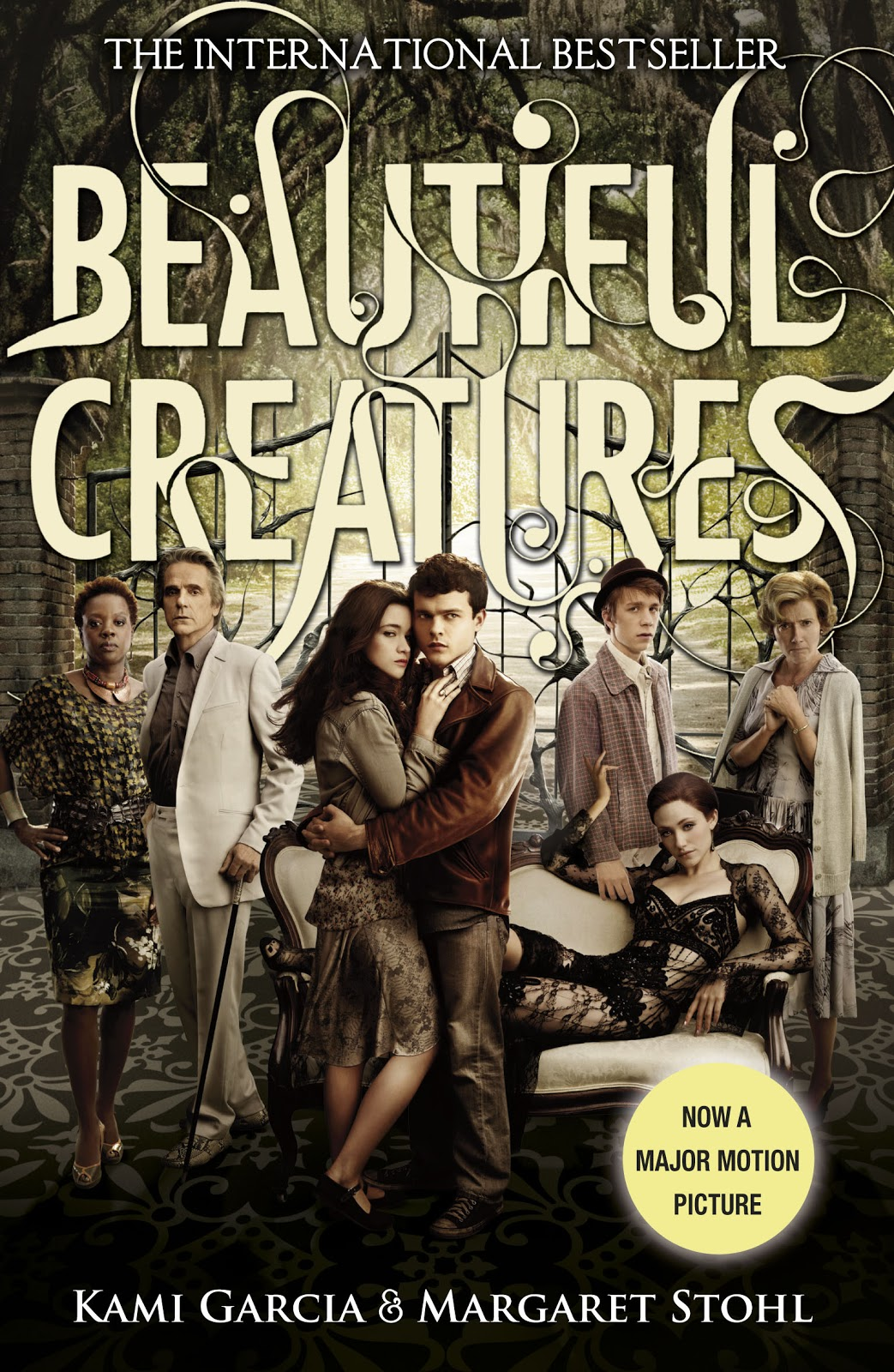 Beautiful Book Cover Uk : Whispering words beautiful creatures movie cover