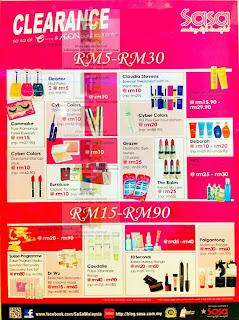 SASA Clearance Sale 2012