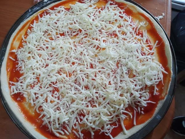 Masa Para Pizza Casera.