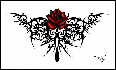 rose tattoos designs for girls