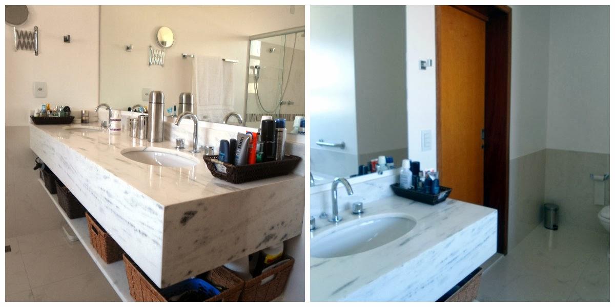 Decoração Como Organizar o Banheiro sem Armários  Cores da Casa -> Como Organizar Um Armario De Banheiro