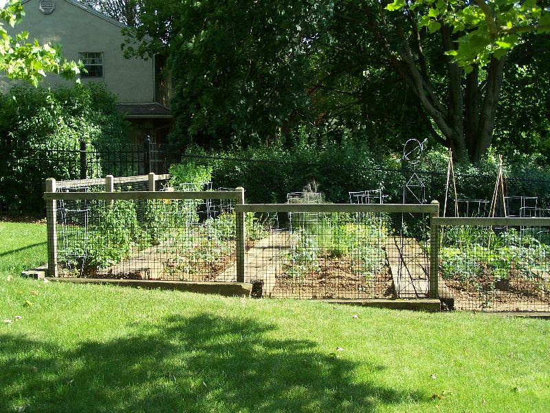 House Backyard Fence :  Men and a Little Farm FENCE STYLES FOR THE GARDEN DECISIONS DECISIONS