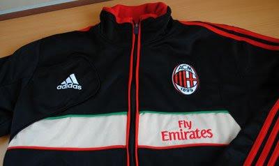 Jual Jaket Ac Milan Home 2012-2013 murah