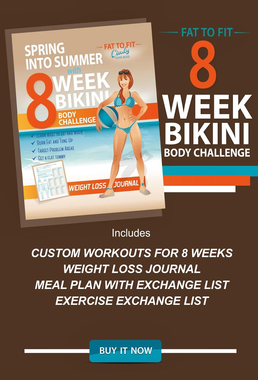 8 Week Bikini Body Challenge