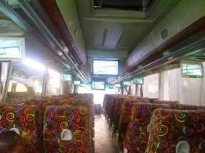 bagian dalam bus