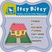 Finalist@ Itsy Bitsy Craft Awards.