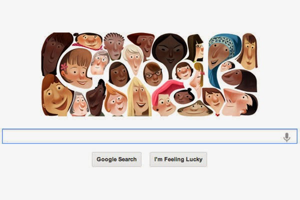Google Doodle for International Women's Day 2013