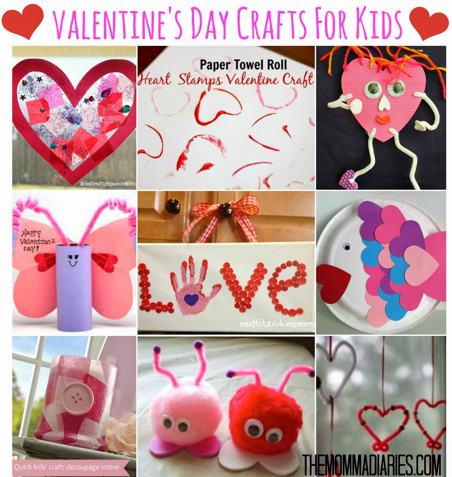 #Valentines #Day #Crafts For #Kids