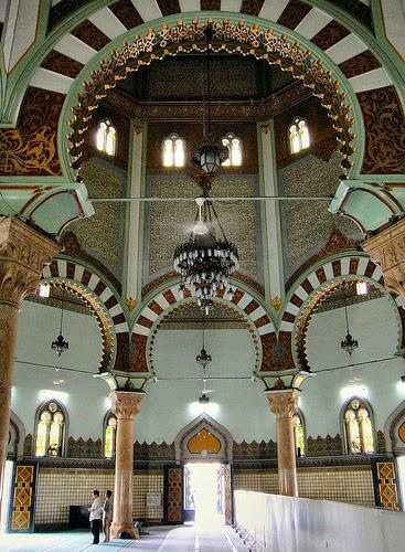 Masjid Raya Medan Mosque Interior