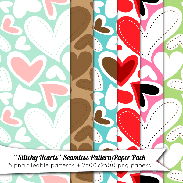 Free Seamless Pattern Paper Pack