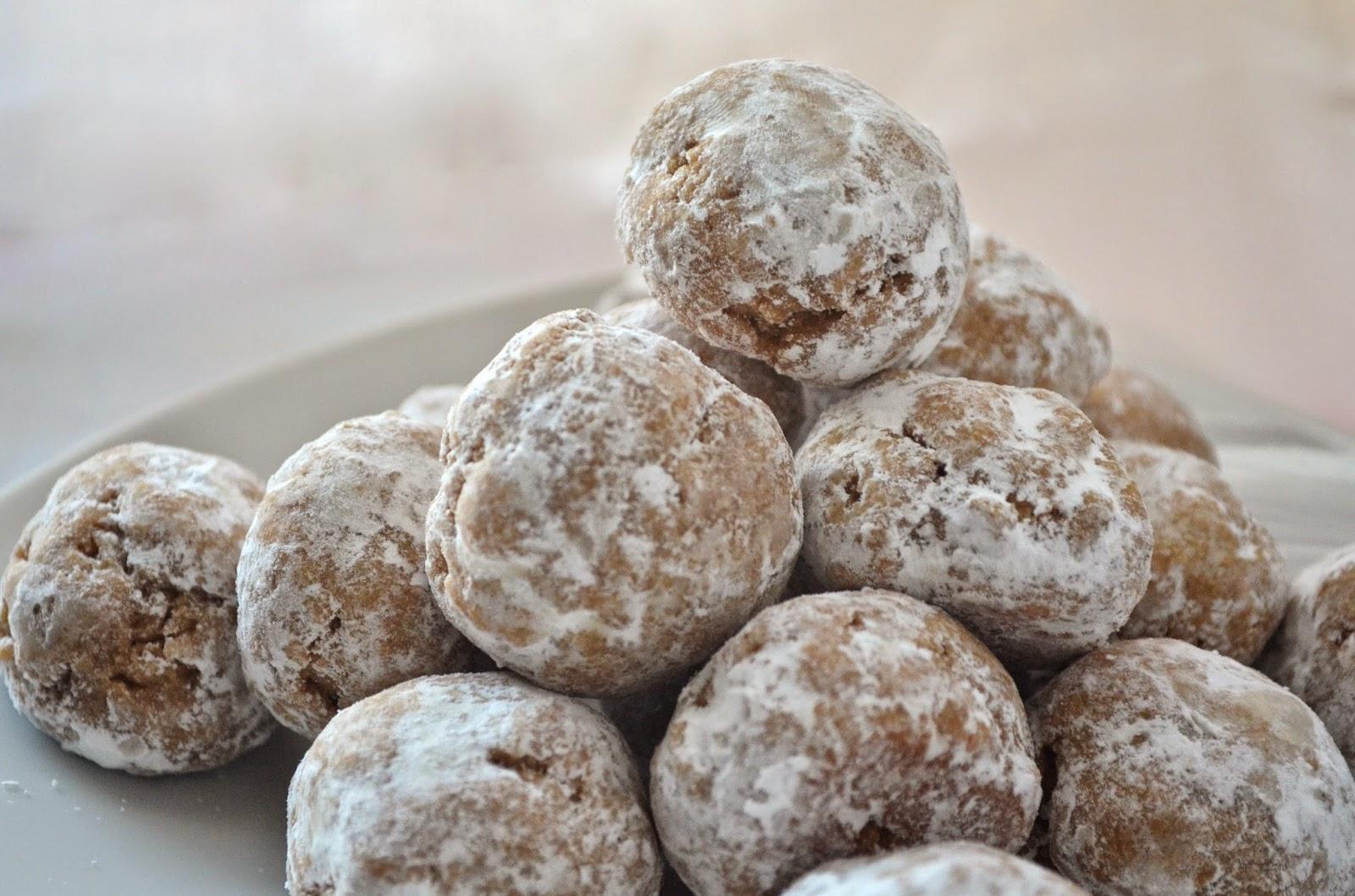 Peanut Butter N Coffee Snowball Cookies Vegan A Little Baker