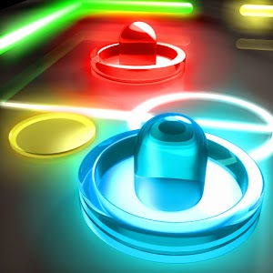 Glow Hockey 2 Apk Full