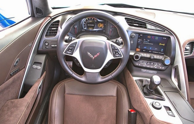 Corvette ZR1 interior