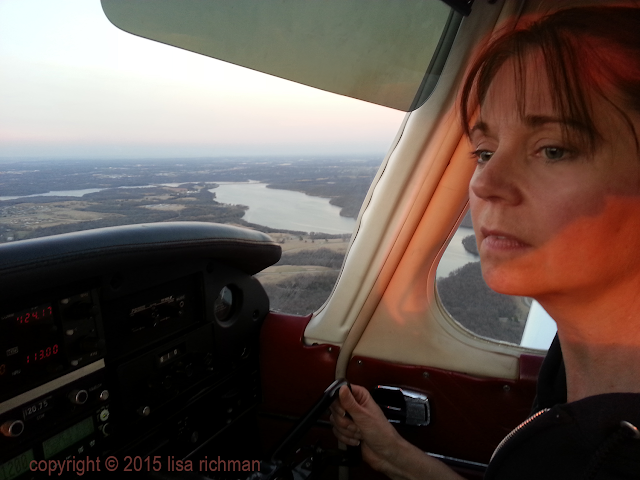 Flying right seat as Pilot-in-Command. Land in the right seat too! #womenfly #femaleaviators #wwekendwarriors