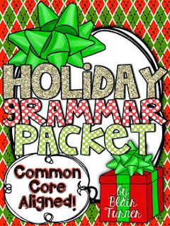 http://www.teacherspayteachers.com/Product/Winter-Holidays-Grammar-Packet-974128