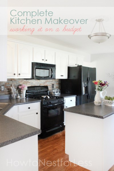 The shabby nest frugal friday for Kitchen cabinets 4 less