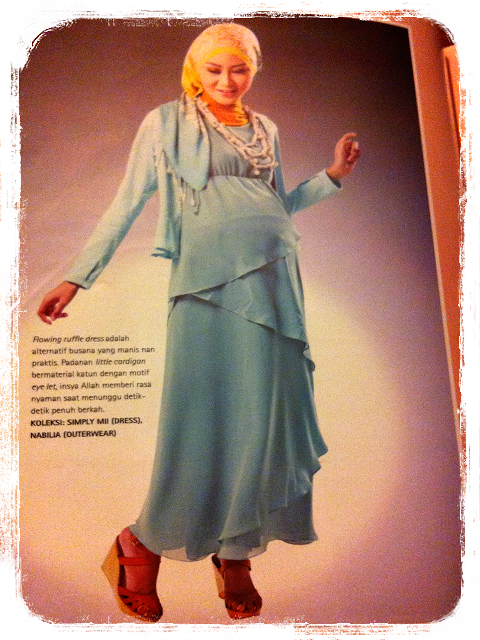 model baju ibu hamil trendy