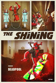 Deadpool The Shining Marco D'Alfonso Mash up