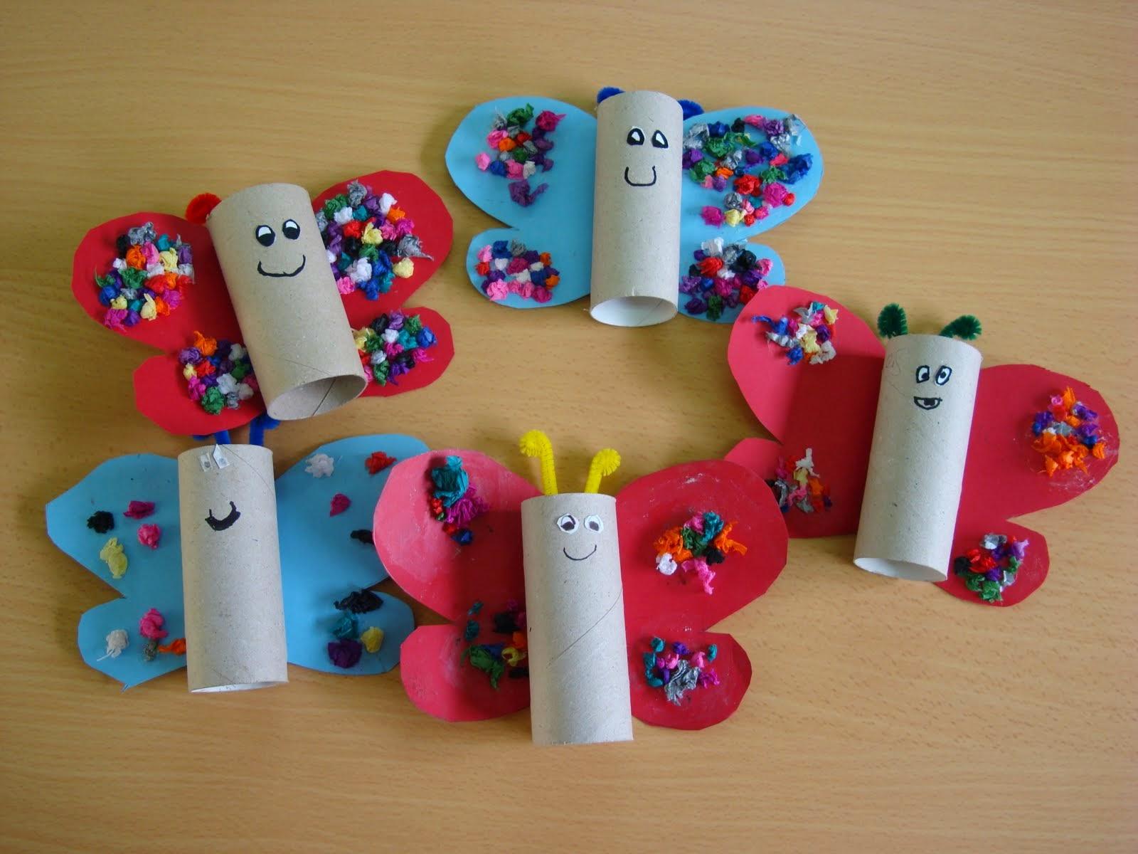 M s ideas para manualidades con rollos de papel higi nico - Manualidades para hogar ...