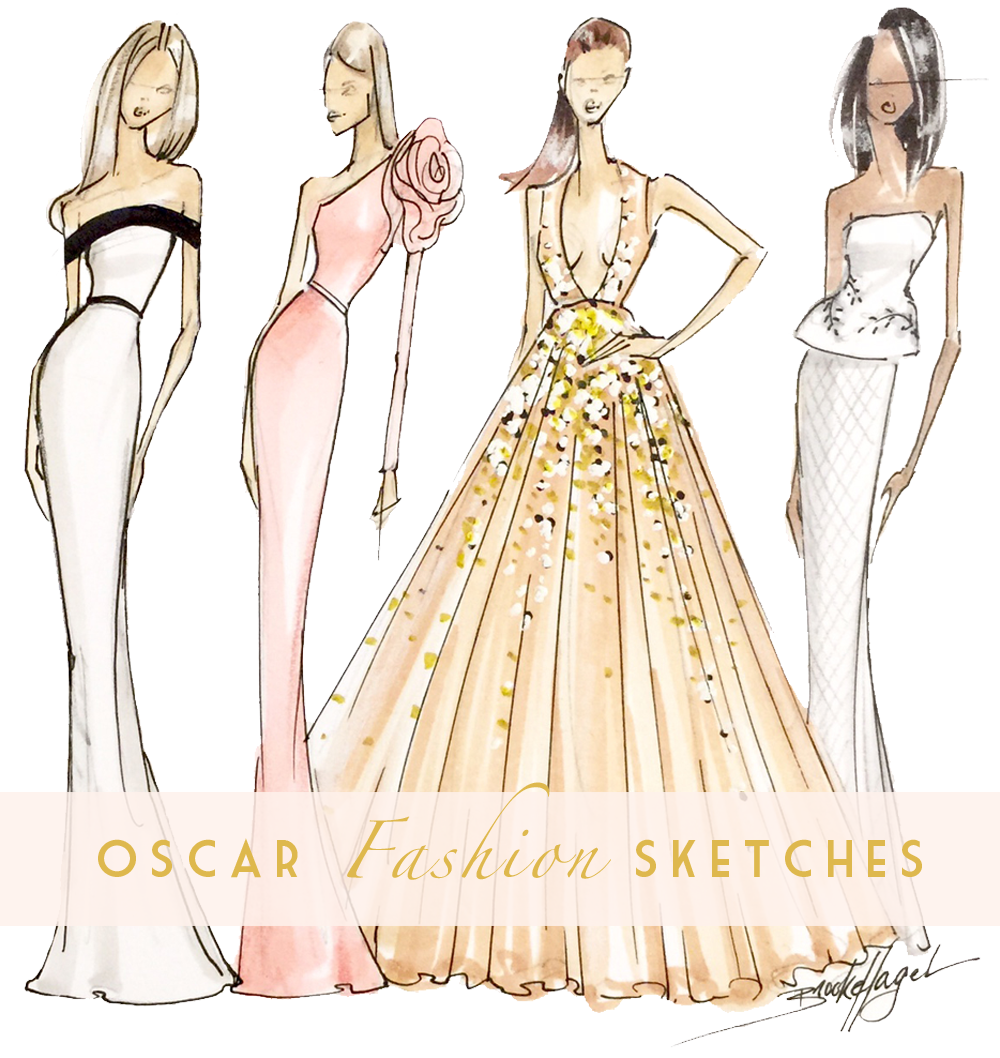 Fabulous Doodles Fashion Illustration blog by Brooke Hagel: Red ...