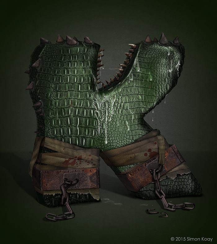 K for Killer Croc