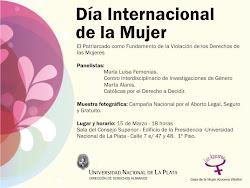 Jornada por el Día Internacional de la Mujer