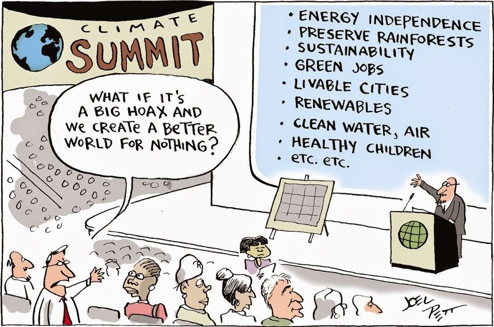 Joel Pett: UNFCCC.