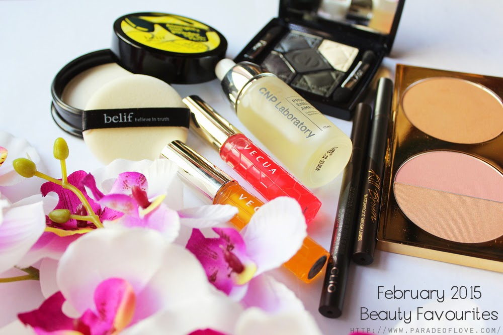 February 2015 Beauty Favourites