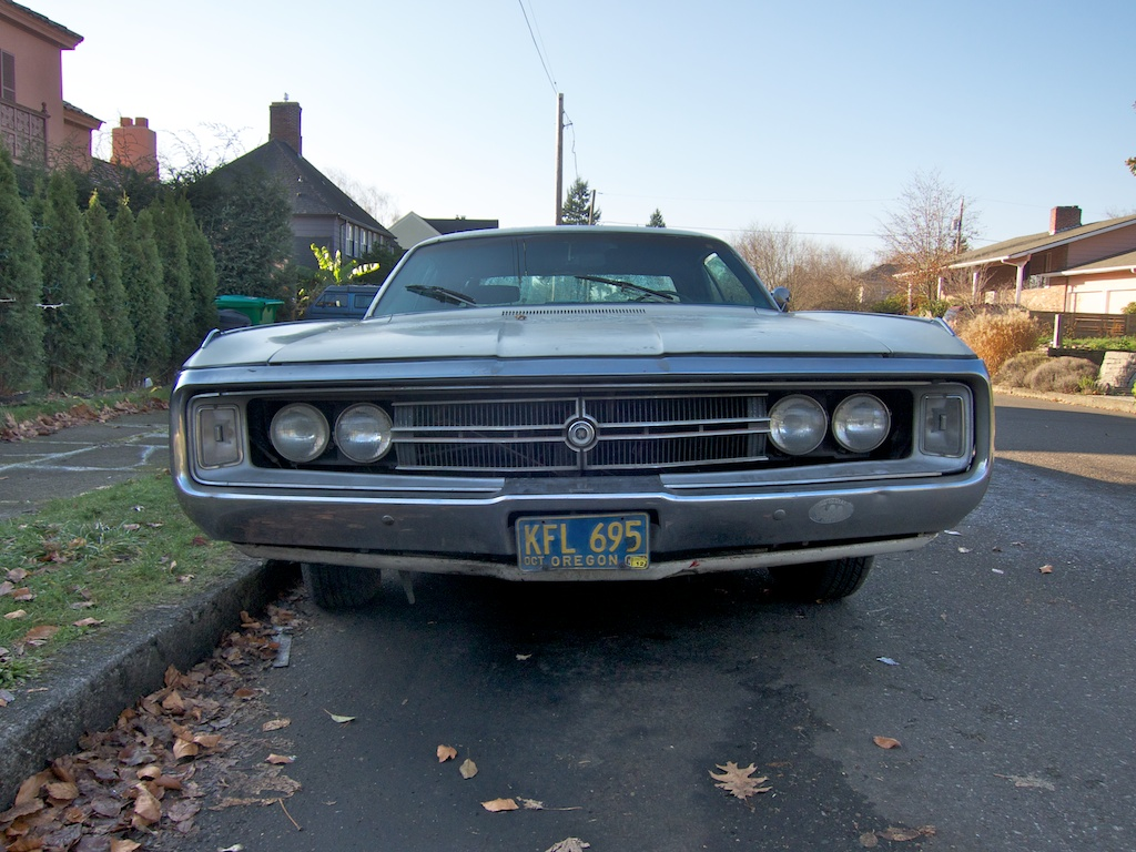 The Street Peep 1969 Chrysler 300