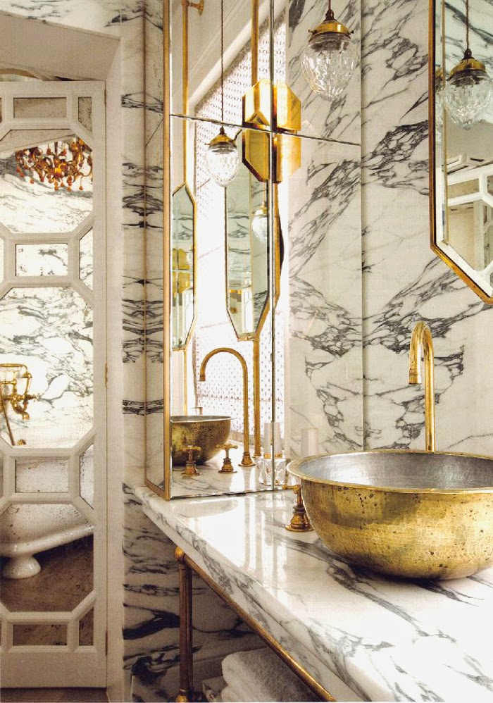 Habitually Chic Brass Is The New Black