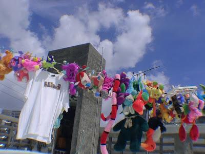 沖縄の晴れた空
