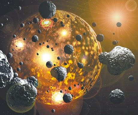 Formación del Planeta Tierra