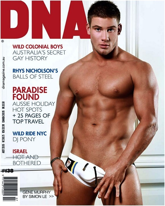 Dna is an australian monthly magazine targeted at the gay male audience the