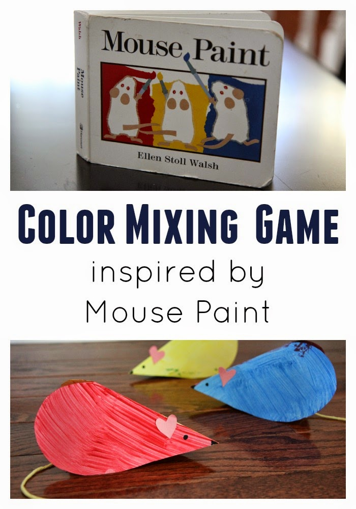 Color Mixing Game with Hearts by Toddler Approved