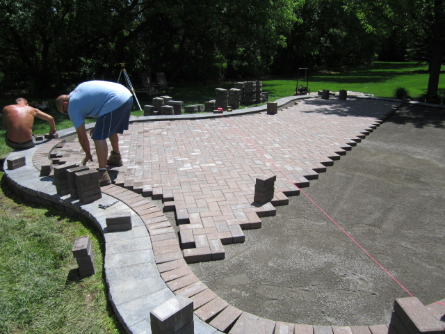 Design U0026 Compaction Are The Biggest Keys To A Successful Raised Paver Patio  Performance. Constructing Strong Bonds, Installing Geo Textile Blankets, ...