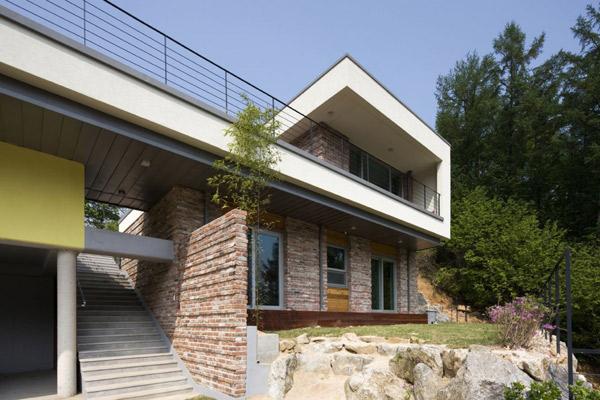 Dise o de casas fachadas de viviendas fotos e ideas de - Apartamentos de montana ...