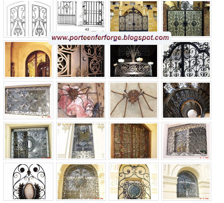 Collection de photos de portails en fer forg 2012 porte for Port fer forge 2013