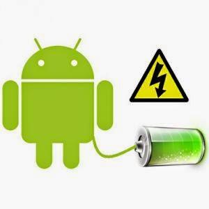 cas baterai android