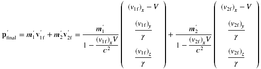 Momentum/mass transforms