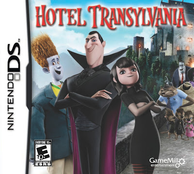 Hotel Transylvania game review, Nintendo DS