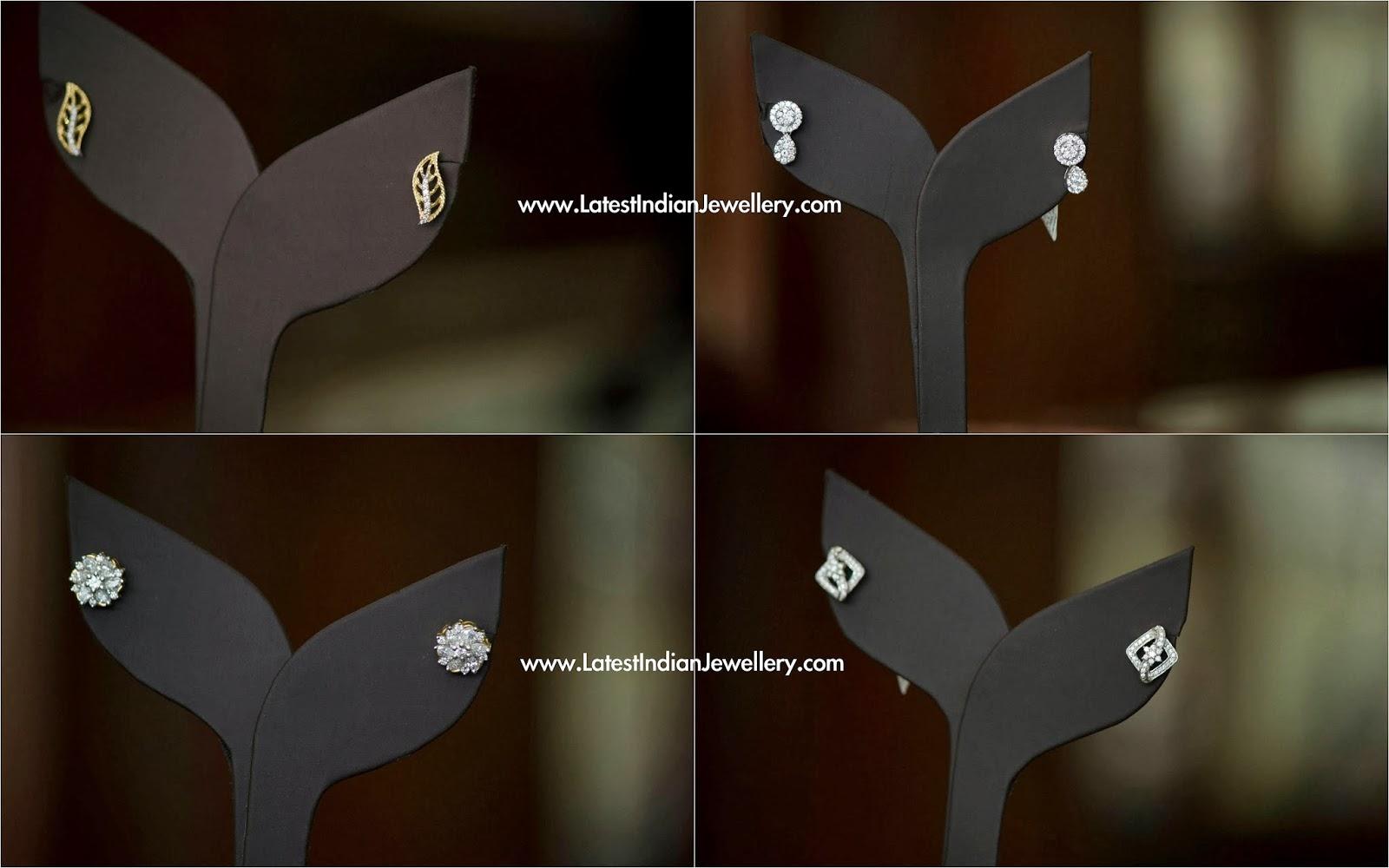 Daily Wear Diamond Earrings