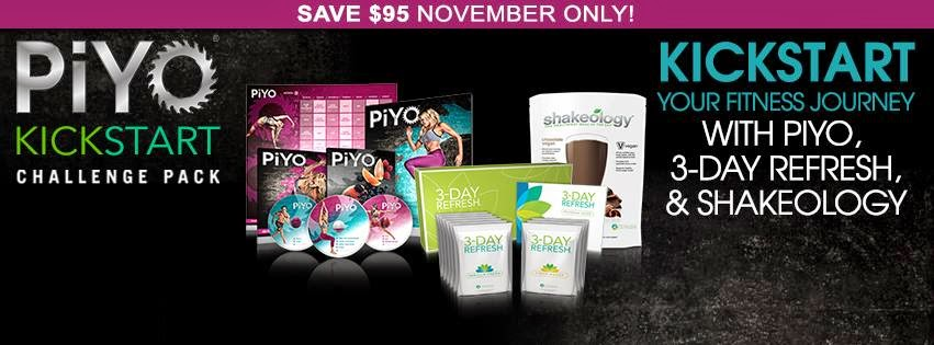 PIYO KICKSTART, REFRESH, PIYO LOVE