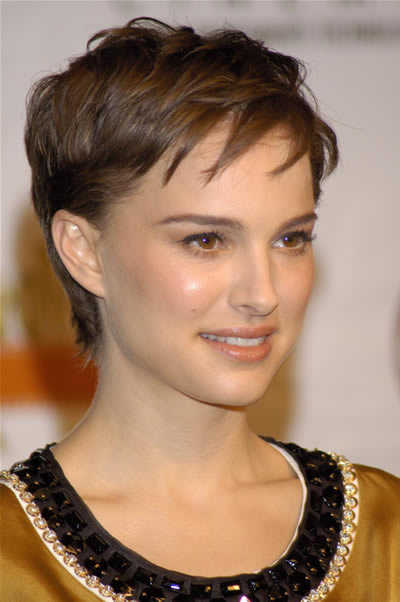 cleveland854321 the many hairstyles of natalie portman. Black Bedroom Furniture Sets. Home Design Ideas